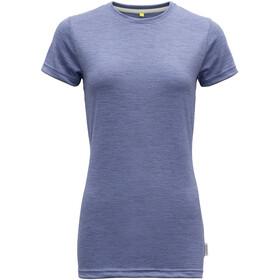 Devold Eika T-shirt Femme, bluebell melange